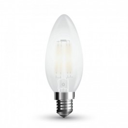 LED Bulb - 4W Filament E14 Candle Warm White Dimmable