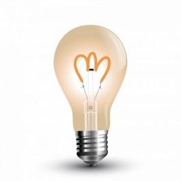 LED Bulb - 3W E27 Filament Amber Cover Warm White