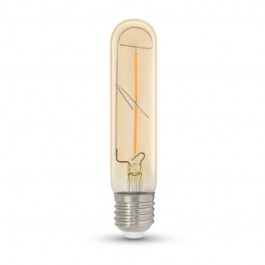 Filament LED Bulb 2W T30 E27 Amber Warm White