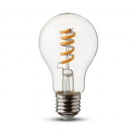LED Bulb 4W Filament E27 Twist Candle Frost Warm White