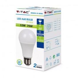 LED Bulb 11W E27 A60 Plastic 6400K