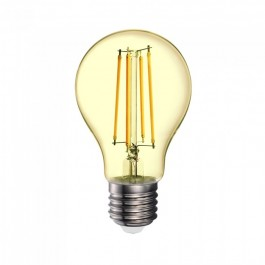 LED Bulb - 12.5W Filament E27 A70 Amber Cover 2200K