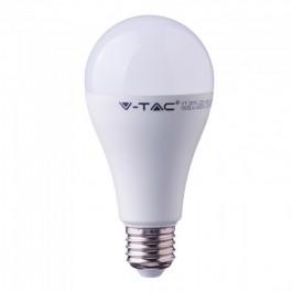 LED Bulb - 17W A65 E27 Plastic 2700K CRI 95+
