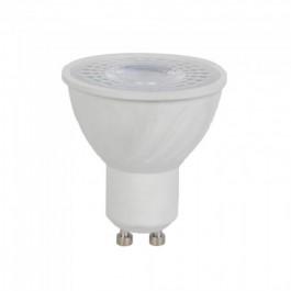 LED Spotlight - 6W GU10 Plastic Lens Cover 6400K CRI 95+