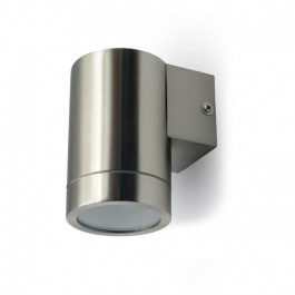 Wall Sleek Wall Fitting GU10 Steel Body 1 Way IP44