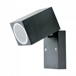Wall Fitting GU10 Adjustable Head Aluminum 1 Way IP44
