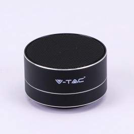 Metal Bluetooth Speaker Mic & TF Card Slot 400mah Battery Black