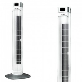 55W LED Tower Fan 36 Inch White