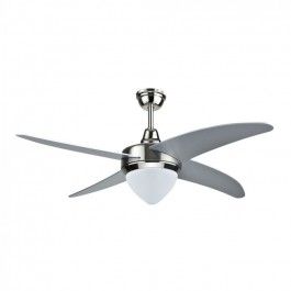 15W 3 in 1 LED Ceiling Fan RF Kontrol 4 Blades 60W AC Motor