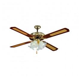 4 x E27 LED Ceiling Fan 4 Blades 55W ?C Motor