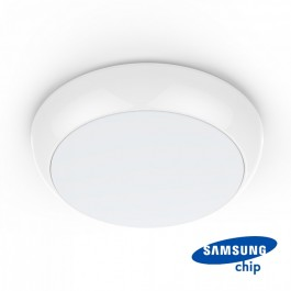 LED Dome Light - SAMSUNG CHIP 15W Emergency Battery Round 4000K