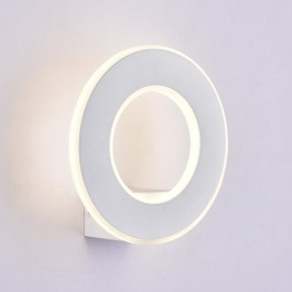 9W Wall Light White Body IP20 Warm White