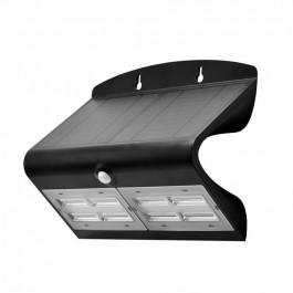 6.8W LED Solar Wall Light Natural light Black Body