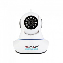 720P Indoor WIFI IP 2 Way Audio Camera With Speaker Microphone EU Plug IP20