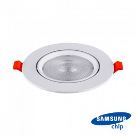 LED Downlight - SAMSUNG Chip 10W Movable 3000K