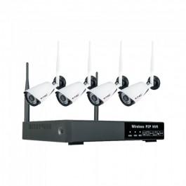 1080P Wireless NVR Camera EU Plug Full Set IP 20