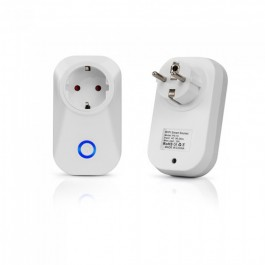 WIFI Plug EU Amazon Alexa & Google Home Compatible