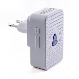 Wireless Video Doorbell Receiver White
