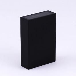 4W LED Wall Light Black 6500K