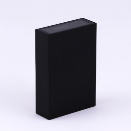 4W LED Wall Light Black 3000K