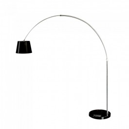 LED Floor Lamp E27 Black Lamp Shade