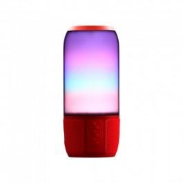 2*3W LED Table Lamp Speaker USB & TF Card Slot Black