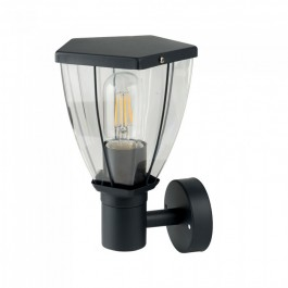 Wall Lamp Matt Black Up
