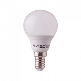 LED Bulb - SAMSUNG CHIP 7W E14 P45 Plastic 3000K