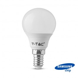 LED Bulb SAMSUNG Chip 7W E14 P45 Plastic 4000K