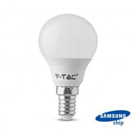 LED Bulb SAMSUNG Chip 7W E14 P45 Plastic 6000K