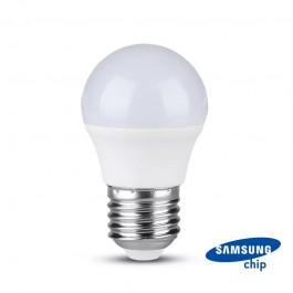LED Bulb SAMSUNG Chip 7W E27 G45 Plastic 6000K