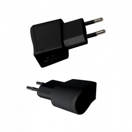 USB Travel Adaptor With Double Blister Package Black
