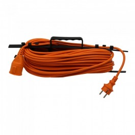 Extension Cord 3G 1.5mm x 30m 1 Way 16A IP44 Orange & Black