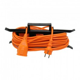 Extension Cord 3G 1.5mm x 15m 1 Way 16A IP44 Orange & Black