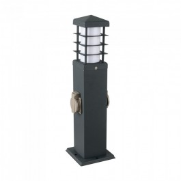 2 Way Gаrden Socket with Lamp E27 IP44