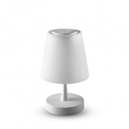 5W LED Rechargeable Table Lamp Chrome Touch Dimming