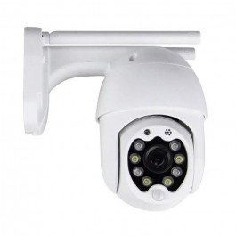 Wi-Fi Outdoor Camera 8 LED Lights 3MP IP65 Dome