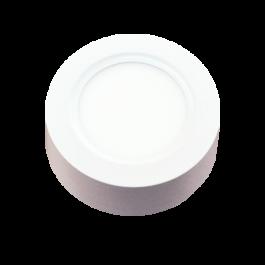 8W LED Surface Panel - Round Warm White
