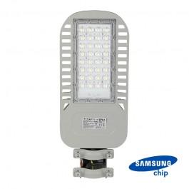 LED Street Light SAMSUNG Chip 5 Years Warranty 50W Slim 6400K 120 lm/Watt