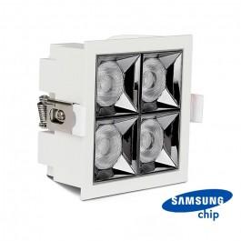 LED Downlight SAMSUNG Chip 16W SMD Reflector 38° 2700K