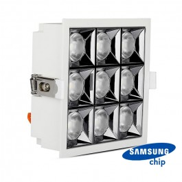 LED Downlight SAMSUNG Chip 36W SMD Reflector 12° 4000K