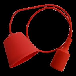E27 Pendant Holder Red