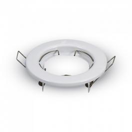 GU10 Round Spotlight Fitting White 2 pcs/box
