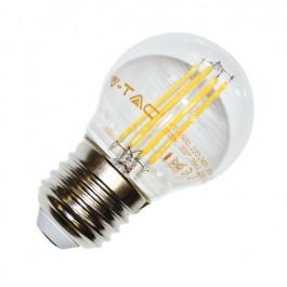 LED Bulb - 4W Filament E27 G45 Natural White