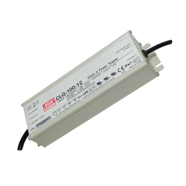 LED Power Supply - 100W 12V 12,5A Metal Waterproof Mean Well