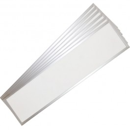 45W LED Panel 1200 x 300 mm Warm White With Driver 6PCS/SET