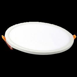 8W LED Panel Downlight - Round, 6000K