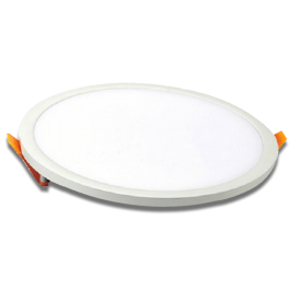 8W LED Panel Downlight - Round, 3000K