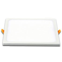 8W LED Panel Downlight - Square White