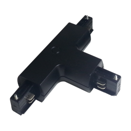 4T Track Light Connector Black